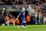 Ivan Rakitic of FC Barcelona in action during the Copa Del Rey 2017-18 match between FC Barcelona and Valencia CF at Camp Nou Stadium on 01 February 2018 in Barcelona, Spain. Photo by Vicens Gimenez / Power Sport Images