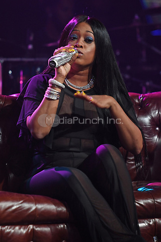 FORT LAUDERDALE FL - APRIL 20: Trina at 99JAMZ sessions at Revolution on April 20, 2017 in Fort Lauderdale, Florida. Credit: mpi04/MediaPunch