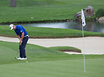 Parraig Harrington putts during the Barracuda Championship PGA golf tournament at Montrêux Golf and Country Club in Reno, Nevada on Friday, July 26, 2019.