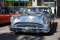Classic Silver Buick, Return to Renton Auto Show 2017, Washington, USA.
