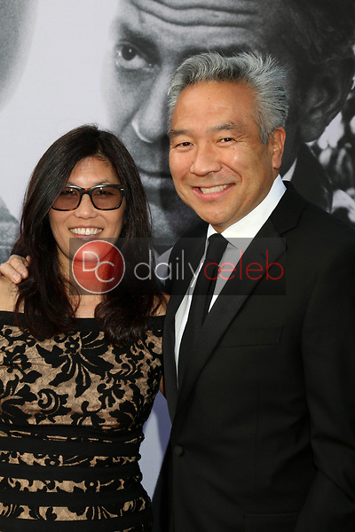 Sandy Tsujihara, Kevin Tsujihara<br /> at the American Film Institute Lifetime Achievement Award to George Clooney, Dolby Theater, Hollywood, CA 06-07-18<br /> David Edwards/DailyCeleb.com 818-249-4998