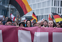 2016/03/12 Berlin | Rechtsradikale demonstrieren gegen Angela Merkel und Flüchtlinge