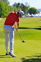 Gary Hurley (IRL) during the second round of the Lyoness Open powered by Organic+ played at Diamond Country Club, Atzenbrugg, Austria. 8-11 June 2017.<br /> 09/06/2017.<br /> Picture: Golffile | Phil Inglis<br /> <br /> <br /> All photo usage must carry mandatory copyright credit (&copy; Golffile | Phil Inglis)
