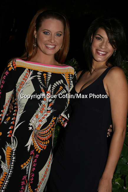 OLTL's Melissa Archer & Jacqueline Hendy at the ABC Daytime Casino Night on October 23, 2008 at Guastavinos, New York CIty, New York. (Photo by Sue Coflin/Max Photos)