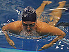 Georgeanne Zimmerman of Bellmore-Merrick swims to victory in the 100 breaststroke event during a Nassau County varsity girls swimming meet against Garden City at Nassau Aquatic Center in East Meadow on Tuesday, Oct. 18, 2016.