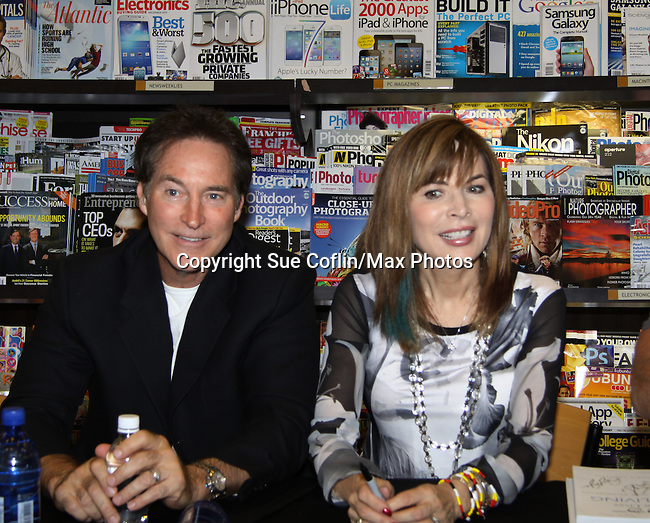 "Days Of Our Lives - Lauren Koslow, Drake Hogestyn meet the fans as they sign ""Days Of Our Lives Better Living"" on September 27, 2013 at Books-A-Million in Nashville, Tennessee. (Photo by Sue Coflin/Max Photos)"