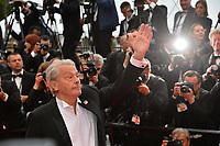 "CANNES, FRANCE. May 19, 2019: Alain Delon at the gala premiere for ""A Hidden Life"" at the Festival de Cannes.<br /> Picture: Paul Smith / Featureflash"