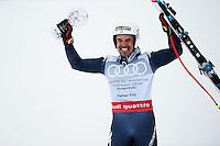 Peter Fill vince la coppa del mondo di Discesa Libera <br /> Saint Moritz 16-03-2016 Sci Alpino <br /> Foto Manuel Lopez / Freshfocus / Insidefoto