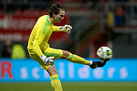 EMMEN - Voetbal, FC Emmen - Jong Ajax, Jens Vesting, Jupiler League, seizoen 2017-2018, 15-12-2017,  Jong Ajax doelman Norbert Alblas