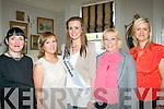 FASHION: Attending the vintage fashion show at the Tea Rooms in Finnegan's restaurant, Denny St, Tralee last Saturday night were l-r: Angela Quirke, Maria McCannon, Annmarie Hayes, Siobhán Behan and Alison O'Brien.