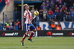 Atletico de Madrid´s Griezmann during 2014-15 La Liga match between Atletico de Madrid and Deportivo de la Coruña at Vicente Calderon stadium in Madrid, Spain. November 30, 2014. (ALTERPHOTOS/Victor Blanco)