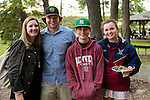 WATERTOWN, CT- 20 May 2016-052016EC19-  Social Moments. L to R: Maddie Senich, Cam Barbieri, Anthony Monteiro and Lily Senich attend the Greater Waterbury Campership Fund's annual fundraiser Thursday night. The event was at the Greater Waterbury YMCA's Camp Mataucha in Watertown. All money raised goes directly to the cost of sending children to camp. Erin Covey Republican-American Erin Covey Republican-American