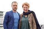 """15. 01.2019, Hotel im Wasserturm, Kaygasse 2, Koeln,  GER, Pressefototermin ZDF 25. Film Krimireihe Marie Brand, """"und das Spiel mit dem Glueck"""", <br /> <br /> im Bild / picture shows: <br /> Hinnerk Schönemann / Schoenemann Schauspieler und Assistent von Marie Brand, Mariele Millowitsch Schauspielerin und Hauptdarstellerin in der Serie """"Marie Brand"""",  Foto © nordphoto / Meuter"""