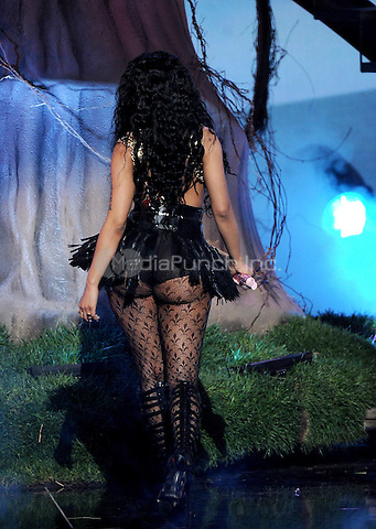 LOS ANGELES, CA - JUNE 29 : Nicki Minaj performs onstage at the BET Awards '14 at Nokia Theatre L.A. Live on June 29, 2014 in Los Angeles, California. Credit: PGMicelotta/MediaPunch