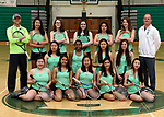 3-30-17, Huron High School girl's varsity tennis team