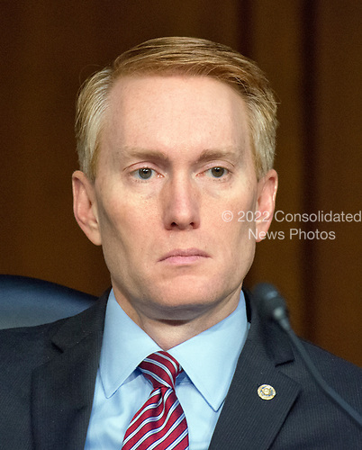 United States Senator James Lankford (Republican of Oklahoma) listens to testimony before the US Senate Select Committee on Intelligence on the Russian intervention in the 2016 Presidential election on Capitol Hill in Washington, DC on Wednesday, June 28, 2017.<br /> Credit: Ron Sachs / CNP