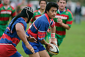 E. Avei has good support in the form of prop R. Fua'aletoelau. Counties Manukau Premier Club Rugby, Ardmore Marist vs Waiuku played at Bruce Pulman Park, Papakura on the 29th of April 2006. Ardmore Marist won 10 - 9.