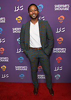 "30 July 2019 - West Hollywood, California - Thomas Hobson. IFC's ""Sherman's Showcase"" Premiere Party held at The Peppermint Club. Photo Credit: Birdie Thompson/AdMedia"