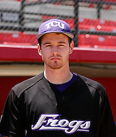 Tyler Lockwood - 2009 Texas Christian Horned Frogs .Photo by:  Bill Mitchell/Four Seam Images