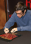 """Justin Levine during the """"Moulin Rouge! The Musical"""" - Vinyl Release signing at Sony Square on December 13, 2019 in New York City."""
