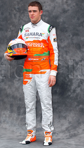 15.03.2012. Melbourne, Australia.  British Formula One driver Paul di Resta of Force India during the photo session at the paddock before the Australian Formula 1 Grand Prix at the Albert Park circuit in Melbourne, Australia, 15 March 2012. The Formula One Grand Prix of Australia will take place on 18 March 2012.