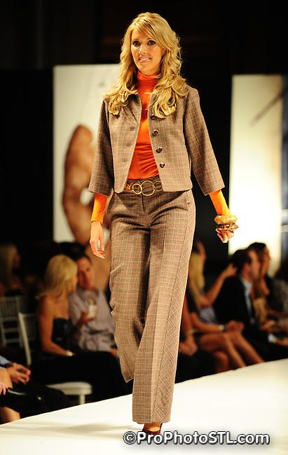 Saks Fifth Avenue fashion show in Saint Louis on Sep 20, 2008.