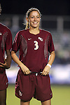 Florida State's Teresa Rivera on Friday, November 4th, 2005 at SAS Stadium in Cary, North Carolina. The University of Virginia Cavaliers defeated the Florida State University Seminoles 2-0 in their Atlantic Coast Conference Tournament Semifinal game.