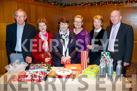 Michael Keane, Mary Power, Maureen Harty, Siobhan Barry, Angela Davoren and Frank Quilter, pictured at the Causeway Senior Citizens Christmas party at Ballyroe Heights Hotel, Tralee on Sunday last.