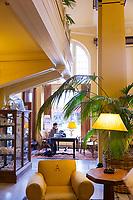 Ashland Springs Hotel lobby in Ashland Oregon