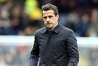 Everton manager Marco Silva cuts a frustrated figure<br /> <br /> Photographer Rich Linley/CameraSport<br /> <br /> The Premier League - Burnley v Everton - Saturday 5th October 2019 - Turf Moor - Burnley<br /> <br /> World Copyright © 2019 CameraSport. All rights reserved. 43 Linden Ave. Countesthorpe. Leicester. England. LE8 5PG - Tel: +44 (0) 116 277 4147 - admin@camerasport.com - www.camerasport.com