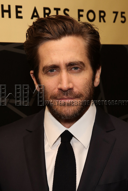 """Jake Gyllenhaal attends the New York City Center Celebrates 75 Years with a Gala Performance of """"A Chorus Line"""" at the City Center on November 14, 2018 in New York City."""