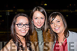 Place your bet<br /> -------------------<br /> Ballyheigue sisters Elaine, Michelle and Ann Marie Duggan pictured having a great night at the Kingdom Greyhound Stadium, Tralee last Saturday.