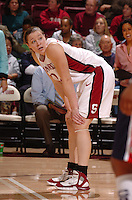 19 January 2006: Christy Titchenal during Stanford's 82-51 win against Arizona Wildcats at Maples Pavilion in Stanford, CA.