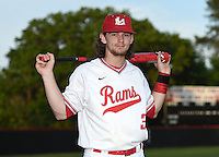Lake Mary Rams shortstop Brendan Rodgers (3) poses for a photo before a game against the Lake Brantley Patriots on April 2, 2015 at Allen Tuttle Field in Lake Mary, Florida.  Lake Brantley defeated Lake Mary 10-5.  (Mike Janes/Four Seam Images)