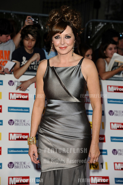 Carol Vorderman arriving for the 2011 Pride Of Britain Awards, at the Grosvenor House Hotel, London. 04/10/2011 Picture by: Steve Vas / Featureflash