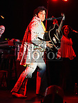 Ciaran Houlihan as Elvis in the Barbican Centre. Photo:Colin Bell/pressphotos.ie