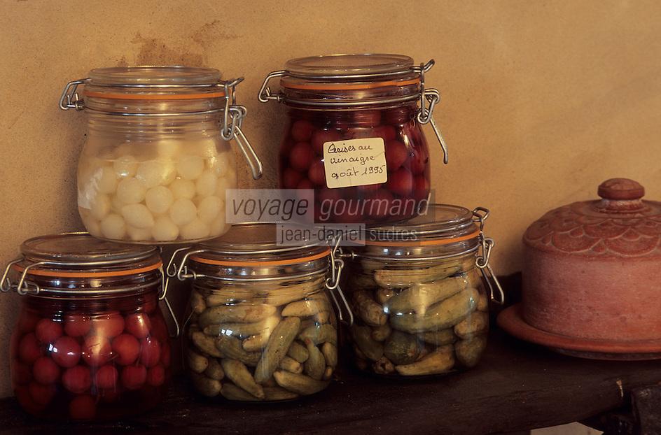 Europe/France/Centre/45/Loiret/Orléans : Bocaux de conserves artisanales