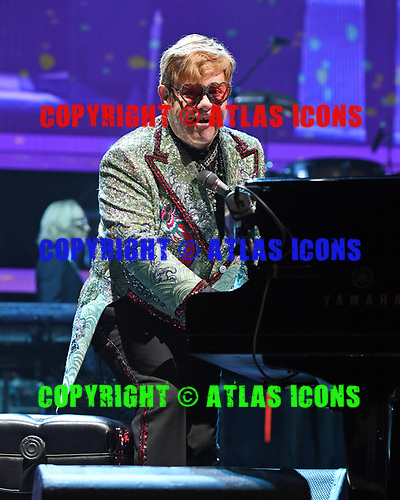SUNRISE FL - NOVEMBER 23: Sir Elton John performs during his 'Farewell Yellow Brick Road' tour at The BB&T Center on November 23, 2018 in Sunrise, Florida. Photo by Larry Marano © 2018