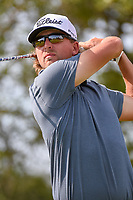 Roger Sloan (CAN) watches his tee shot on 2 during day 1 of the Valero Texas Open, at the TPC San Antonio Oaks Course, San Antonio, Texas, USA. 4/4/2019.<br /> Picture: Golffile | Ken Murray<br /> <br /> <br /> All photo usage must carry mandatory copyright credit (© Golffile | Ken Murray)
