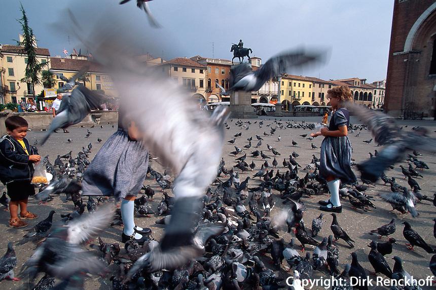 auf der Piazza del Santo, Padua, Venetien-Friaul, Italien