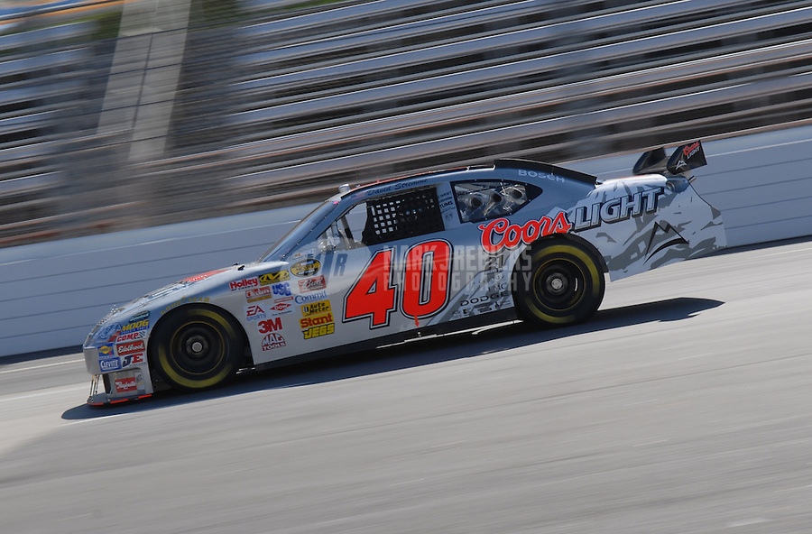 Mar 30, 2007; Martinsville, VA, USA; Nascar Nextel Cup Series driver David Stremme (40) during practice for the Goody's Cool Orange 500 at Martinsville Speedway. Martinsville marks the second race for the new car of tomorrow. Mandatory Credit: Mark J. Rebilas