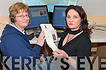 ON THE LINE: Lynda McSweeney and Lillian Cronin manning the telephones at the Hello Kerry Call Centre in Scartaglin.   Copyright Kerry's Eye 2008