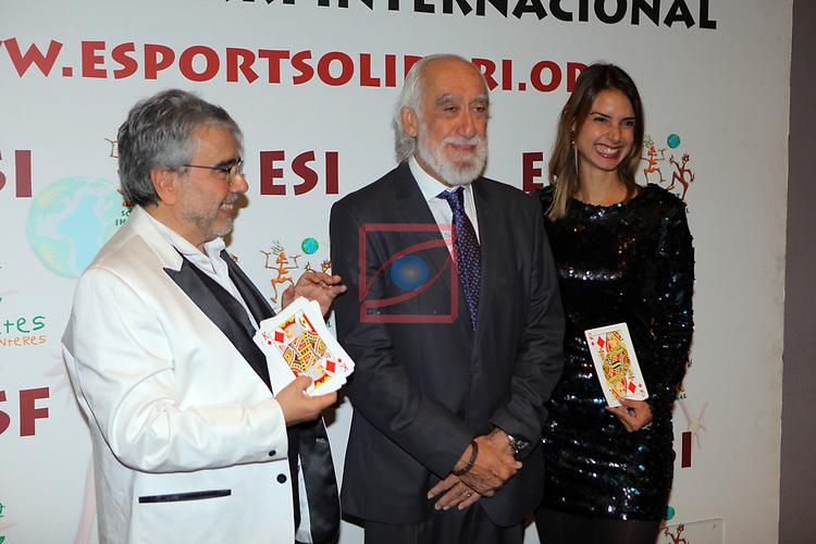XIV Sopar Solidari de Nadal.<br /> Esport Solidari Internacional-ESI.<br /> Andreu Selvin & Josep Maldonado.