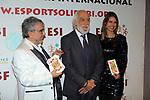 XIV Sopar Solidari de Nadal.<br /> Esport Solidari Internacional-ESI.<br /> Andreu Selvin &amp; Josep Maldonado.