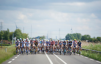 wide peloton<br /> <br /> 3rd World Ports Classic 2014<br /> stage 1: Rotterdam - Antwerpen 195km