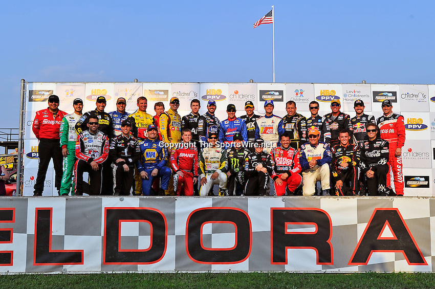 Jun 8, 2011; 7:41:51 PM; Rossburg, OH., USA; The 7th running of the Gillette Fusion ProGlide Prelude to the Dream  Dirt Late Models at the Eldora Speedway.  Mandatory Credit: (thesportswire.net)