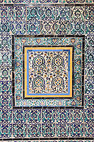 Tripoli, Libya - Tiles, Karamanli Mosque, 18th Century
