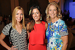 From left: Kati Thompson, Lauren Grau and Elizabeth Theut at the Junior League of Houston's Opening Style Show & Luncheon Thursday Sept. 10,2015.(Dave Rossman photo)