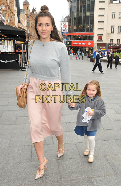 Imogen Thomas and Ariana Siena Horsley at the &quot;Smurfs: The Lost Village&quot; gala film screening, Cineworld Leicester Square, Leicester Square, London, England, UK, on Sunday 19 March 2017.<br /> CAP/CAN<br /> &copy;CAN/Capital Pictures