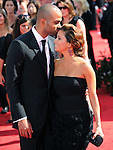Tony Parker & Eva Longoria Parker..  at The 62nd Anual Primetime Emmy Awards held at Nokia Theatre L.A. Live in Los Angeles, California on August 29,2010                                                                   Copyright 2010  DVS / RockinExposures